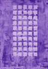wealth large purple rectangle abstract monochrome, modern