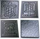 Внешний вид - SOLD 1 mold Turtle Stepping Stone Concrete Cement Mould garden path TURTLE STYLE