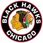 Chicago Blackhawks Circle logo Vinyl Decal / Sticker 5 Sizes!!! $2.99 USD on eBay