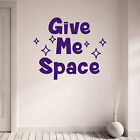 Give Me Space Wall Sticker Stars Girls Boys Children's Wall Art Decal Home Decor