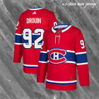 Montreal Canadiens 92 Red Home Hockey Jersey M 3XL New 2018 DROUIN