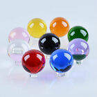 9 Color 50mm Glass Crystal Ball Paperweight Healing Sphere Photography Prop Gift $9.19 USD on eBay