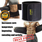 Men Waist Trimmer Belt Sweat Wrap Tummy Stomach Weight Loss Fat Burner Slimming, used for sale  Shipping to Canada