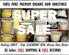 PREMIUM Raw Shea Butter 100 Natural Pure Unrefined From Ghana 1 oz to 50 Pounds