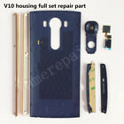 OEM New Housing Full Set for Lg v10 Back Cover Touch ID Camera Lens Side Stripes