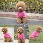 UK Cute Boy Girl Puppy Clothes Tee T Shirt for Small Dogs Puppies Polo Outfit UK