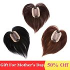 New 15cm Base 5cm*8cm Womens Human Hair Hairpiece Toupee Top Replacement