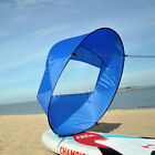 "42"" Kayak Wind Paddle Sailing Popup Board Sail Rowing Downwind Boat Canoe Sail"
