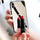 Luxury Mirror Tempered Glass Bumper Scratch Cover Case For iPhone X 8 7 6s Plus