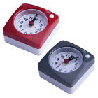 Cute Portable Square Small Bed Compact Desk Table Travel Alarm Clock Non Ticking