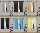 100 BLACKOUT INNOVATING BLACK FOAM LINED WINDOW CURTAIN 1P PANEL ROD POCKET