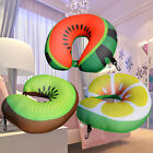 3D Microbeads U Shaped Travel Pillow Neck Support Head Rest Airplane Car Cushion