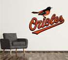 Baltimore Orioles Wall Decal Logo Baseball MLB Art Sticker Vinyl LARGE SR15 on Ebay