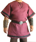 Medieval Pink Color Renaissance Tunic Costume For Armor Clothing Reproductions