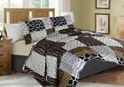 #3 ANIMAL PATHWORK SAFARI JUNGLE QUILT SET BED COVER BEDDING QUILTED BEDSPREAD image