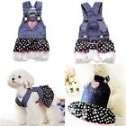 UK BEST GIRL DOG OUTFIT TUTU DRESS APPAREL FOR SMALL DOGS PUPPY CHIHUAHUA YORKIE
