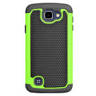 For LG Optimus Zone 3 / K4 Shockproof Armor Hybrid Rugged Rubber Hard Case Cover