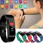 Sports Smart Bracelet Watch Heart Rate Blood Pressure Steps Pedometer Tracker