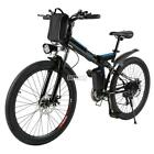 "26"" 500W Fat Tire Electric Bicycle Bike Ebike Mountain Beach w/ Lithium Battery"