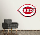 Cincinnati Reds Wall Decal Logo Baseball MLB Art Decor Sticker Vinyl LARGE SR54 on Ebay