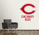 Cincinnati Reds Wall Decal Logo Baseball MLB Custom Art Decor Sticker Vinyl SR55 on Ebay