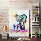 Abstract Elephant Art Canvas Prints Modern Home Decor Wall Picture Oil Painting