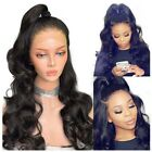 Cheap 360 Lace Frontal Wigs For Black Woman Body Wave High Ponytail Pre Plucked