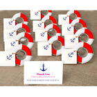 50× Nautical Wedding Favors Lifesaver Bottle Opener with Anchor Tags+ String Set