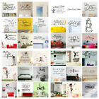 Wall Stickers Removable Art Pvc Diy Wall Decal Mural Home Office Decoration Fine