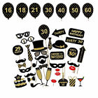 16/18/21st/30/40/50/60th Birthday Party Photo Booth OR Frame Props Party Decor