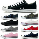 Kyпить New Womens Sport Shoes Low Top Canvas Sneakers All Star Size Classic Multi Color на еВаy.соm