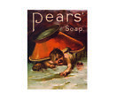 Pears soap metal wall plaque sign brand new
