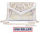 Women Clutch Evening Party Bag Handbag Tote Purse Lady  Prom Bridal Wallet Case