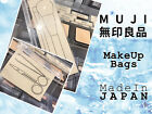 MUJI EVA Clear Case - Small / Large , Value Pack of 4. (make up bag)