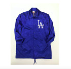 MLB Los Angeles Dodgers Men's Mitchell & Ness Satin Coaches Jacket on Ebay