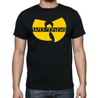 MENS New Wu Tang Clan Classic Black Graphic T-Shirt Rza Gza Method Man Ghostface image