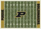 Purdue Boilermakers NCAA Home Field Indoor Area Rug