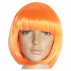 US Fashion Womens Lady Short Straight Hair Full Wigs Cosplay Party Bob Hair Wig