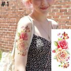 10 designs Fashion Removable Women Lady 3D Flowers Waterproof Temporary Tattoo