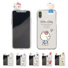 Sanrio Figure Jelly Cover Galaxy S10 S9 Note9 iPhone XS Max XR X 8 7 6 Plus Case
