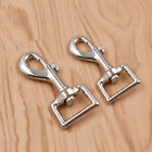 5x DIY Silver Dog Leash Alloy Clasps Dog Clasp Hook Hardware Pet Clip Supplies