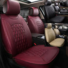 All 5-seats Car Seat Cover Mat PU Leather 3D Surround Chair Cushion Durable NBTS on eBay