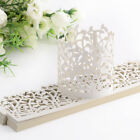 25 Love Heart Laser Cut LED Tea Light Candle Holders Lampshade Wedding Decor
