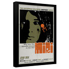 Star Trek Original Series Poster EPISODE 8 Miri Framed Canvas Wall Art