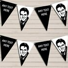 Elvis Presley White Black Birthday Bunting Garland Party Banner