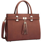 Dasein Double Tassel Satchel 2 Colors