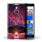STUFF4 Back Case Cover Skin for Nokia Lumia 1520 Christian Bible Verse