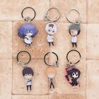 TOKYO GHOUL CHARACTER THEMED KEYCHAIN KEYRING KEYFOBS. NEW.