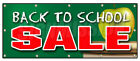back to school discount - BACK TO SCHOOL SALE BANNER SIGN boys girls clothes save sale discount fall big