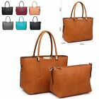 Ladies Designer Faux Leather Bag in a Bag Shoulder Bag Bucket Handbag MA34513